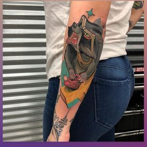 Tattoo by Red Baron Ink West