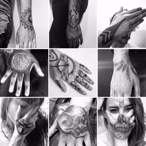 #handstattoo#ornamentaltattoo#feminin #tattoo #geometric #organica #mandala #flores #rosatattoo #dmoch