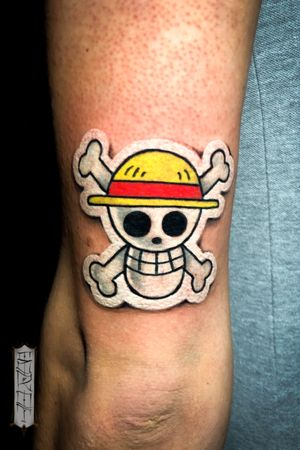 •Jolly Roger from One Piece• #stickertattoo