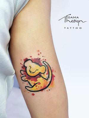 Simba #tattoolife #tattooidea #tattoosketch #tattoofamily #tattooart #tattoodesign #tattoo #art #artist #tattoostyle #tattoostudio #tattooanimal #photooftheday #ink #rosolini #thelionking #watercolortattoo #watercolor #tattooforman #likeforlike #instagood #instalike #instart #colortattoo #tattooforwomen #simbatattoo #simba #disneytattoo #disney #lion