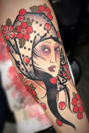 From the philly show Currently booking @darkagetattooseattle DM for info • • • • • • • • • • #japanesetattoo #japanesestyle #irezumi #japanesesleeve #seattle