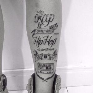 Hip hop lettering #lettering #tattoo