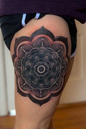 #mandala #blackandgrey #tattooartist