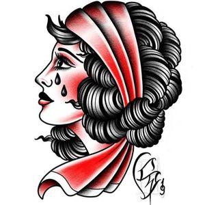 #woman #womantattoo #traditional #traditionaltattoo #flash #flashtattoo #flashaddicted #tattoodo #italy