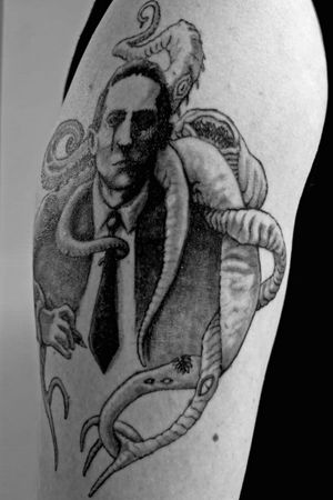 Lovecraft concept tattoo