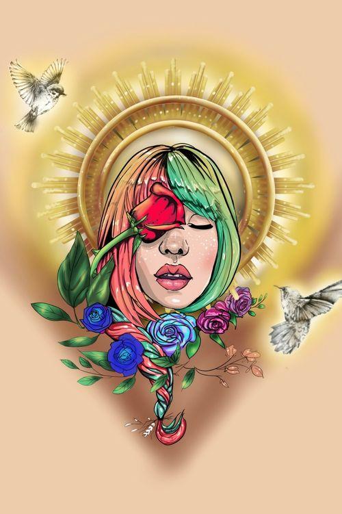 ¡Ilustración y diseño de tatuaje! Con muchas ganas de hacerlo ¿Quién se anima? ;)