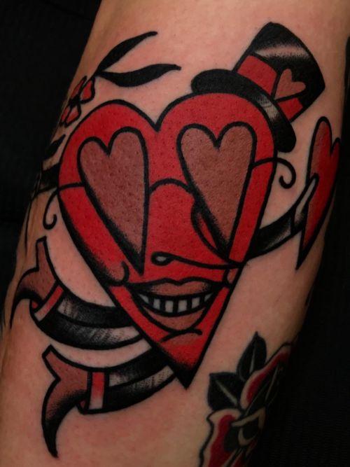 Love traditional tattoo Amsterdam