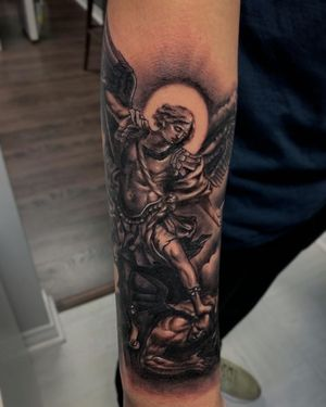 #stmichael #archangel I did recently 🗡