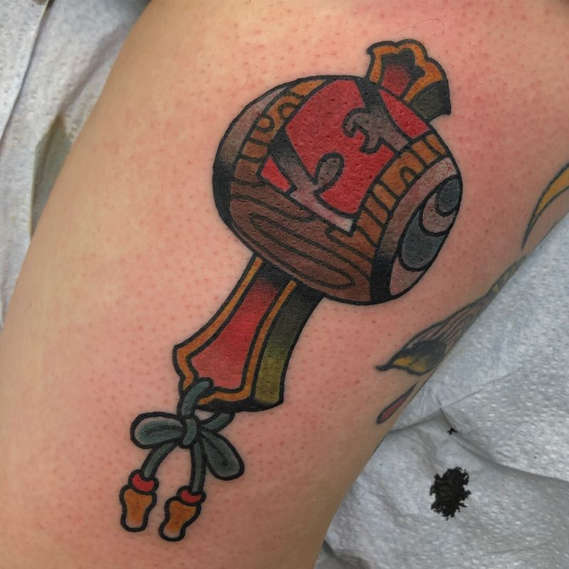 Tattoo from Tom connors