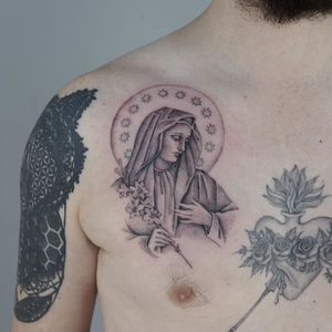 Tattoo by Ruby May Quilter #RubyMayQuilter