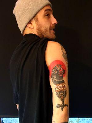 Pantherhead/Chalice #oslo #tattoo #norge #norway #oslotattoo