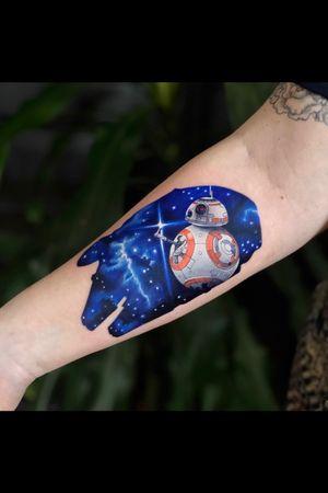 Double exposure Star Wars theme ✨