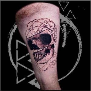 contemporary skull