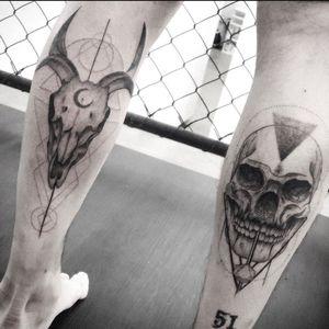 Skulls. Occult