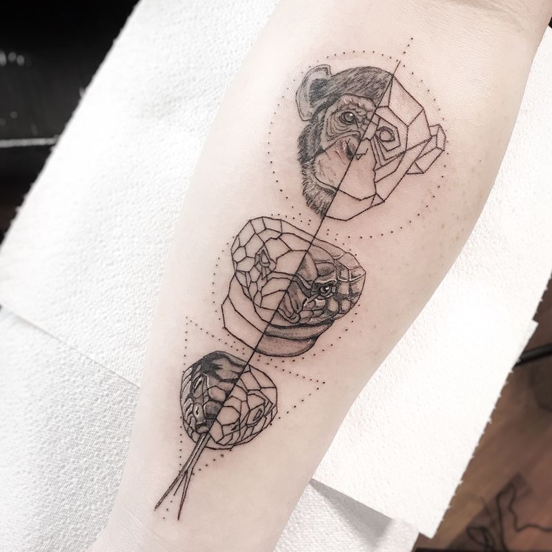 Tattoo from Thais Blank @blank.in.k