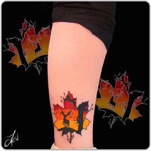 💉🍁#Linework#Dotwork#Shading#Instaart#TattooDesigns #Leaf #Colour #Cute #Tattoos #Beautiful #Ink #TattooLife #InstaTattoos #TattooArt #LondonTattoos #Inked #TattooedGirls #InkArt #GirlsWithTattoos #Inkstagram #Follow #DailyArt #CheyanneHawk #Flash #InstaGood #Art #Artist #ArtLovers #Tattooist