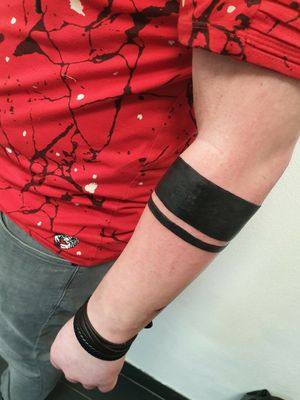 Bracelet tattoo #bracelettattoo #bracelet #Black #tattooart