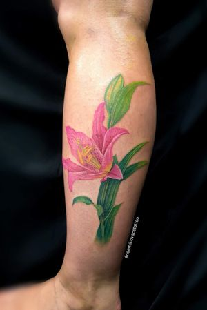 #lilly #lily #lilytattoo
