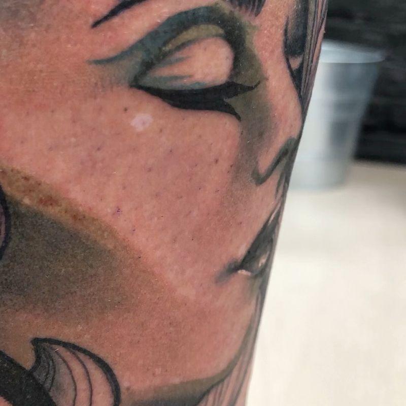 Tattoo from Thea Heggelund