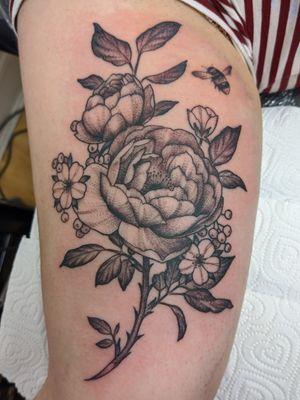 My first international tattoo ✨