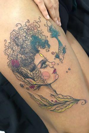 LISBON - Instagram : @scarlathlouyse • Wanderer   Art   Custom Tattoo • Flashs @petitscar • Appointments : scarlathlouyse@gmail.com