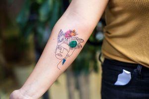 Tattoo from Tatuajero Cosmico