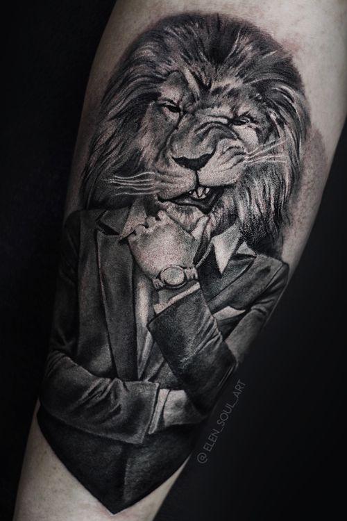 Boss #lion #blackandgray #elensoul