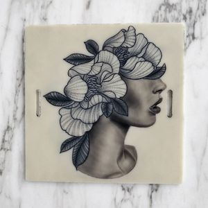 #surrealism #blackandgrey #linework #realism  🌸