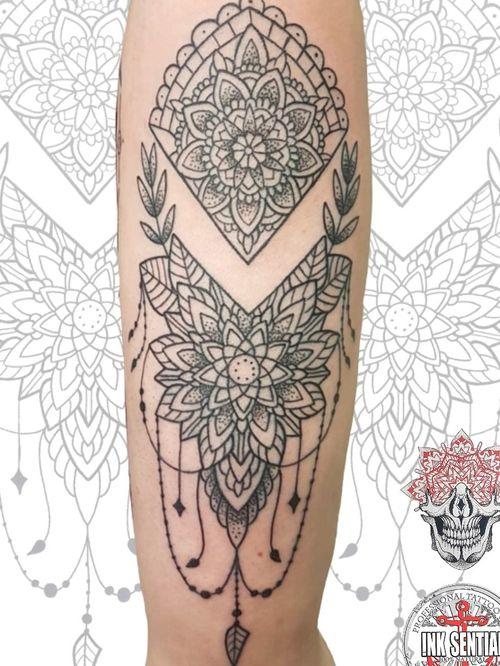 Mandala style custom design
