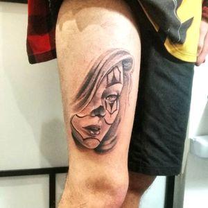 ☢️Chican woman⚠️ #tattoo #tattoos #drawing #art #artist #tatuaggi #tattoolife #tattolove #tattoostyle #tattooartist #tattooing #tattoo #tattoos #firenze #blackandgray #blackandgraytattoos #tattoolovers #chicanotattoo #ink #xxxpanteraink #rekuna #liner #black #firenzetattoo
