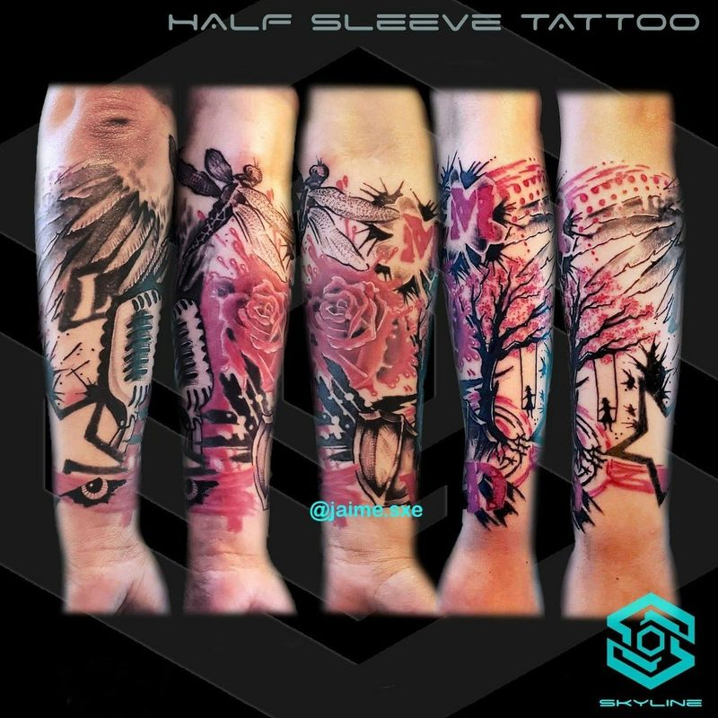 Tattoo from Jaime sXe Rosales