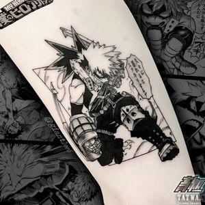 ig : giantlee6   #myheroacademia #bagukou #animetattoo #anime #manga #mangatattoo #otaku