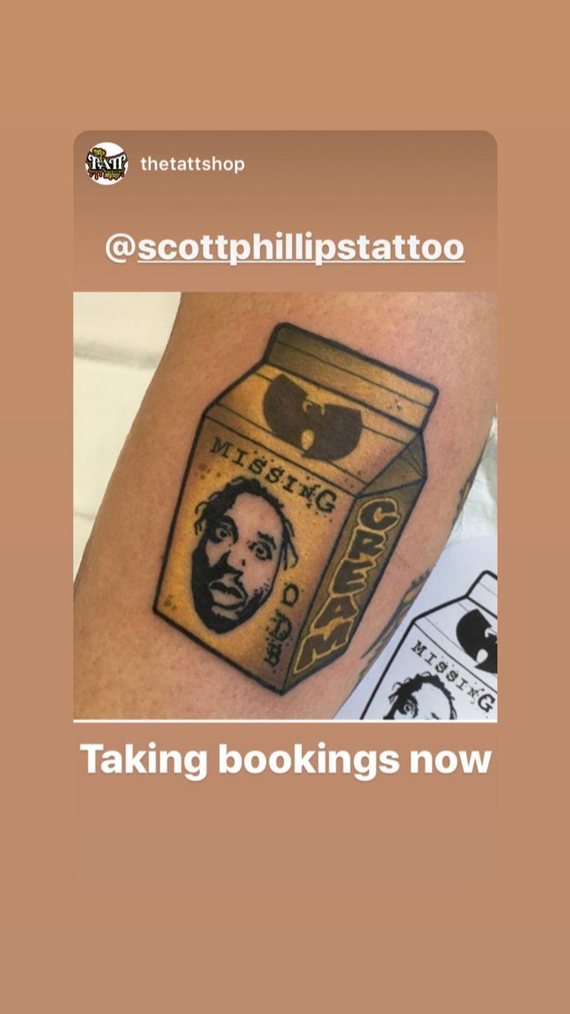Tattoo from Scott Phillips
