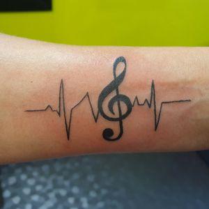 #musictattoo #HeartRhythm