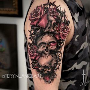 #terynlanceart #littlerock #arkansas#centralarkansas #arkansastattooartist #arkansastattoos #littlerocktattoos #littlerocktattooartist #tattoo#tattoos#tat#ink#tattooideas #tattooartist #tattooing #tattooist  #blackandgrey #blackandgreytattoo#blackworktattoos #tattoodo#tattooworkers #tattooer#skull #DarkArt