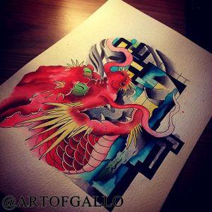 Always love drawing dragon :) 🙌🏻🙌🏻🐉