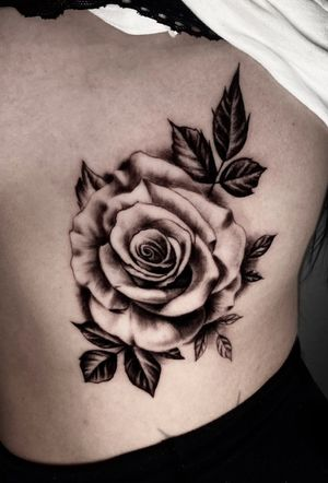 Rose done by myself. For appointments send me a message!