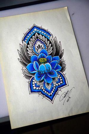 #ornamentaltattoo #tatuagemornamental #thiagopadovani #lotustattoo #tatuagemlotus