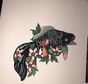 Sakura Koi design