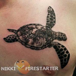 Sea change... 🌊⛵ nikkifirestarter.com . . . #tattoos #bodyart #bodymod #modification #ink #art #queerartist #queertattooist #mnartist #mntattoo #visualart #tattooart #tattoodesign #thetattooedlady #tattooedladymn #nikkifirestarter #firestartertattoos #firestarter #minnesotatattoo #seaturtle #turtle #sea #oceanlife #seaturtletattoo #travel #traveltattoo #blackandgray #turtletattoo #sailboat #worldmap