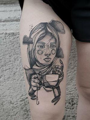 #kuro #kurotrash #tattoo #tattooing #tattoos #tattooed #tattooer #black #blackandwhite #blackwork #blackworkers #ink #inked #onlythedarkest #blackink #tattooart #tattooartist #vienna #wien #sketchy #sketching #sketch #blackink #tattooartist #tattoolife #onlythedarkest #blackandwhite #inkedgirls #inkedup #tattooart