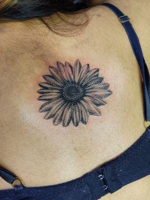 #Nukelz #sunflower #floraltattoo