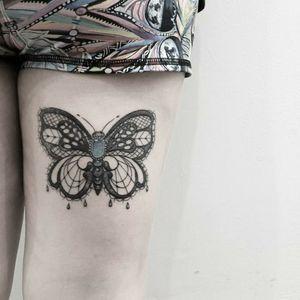 #tattoo #tattooidea #tattoodesign #tattooinspiration #tattoodo #tattooink #tattoolife #polishtattooartist #sanfranciscotattoo #berkeleytattoo #bayareatattoo #oaklandtattoo #jessejamestattoo #femaletattooartist #lacetattoo #butterflytattoo