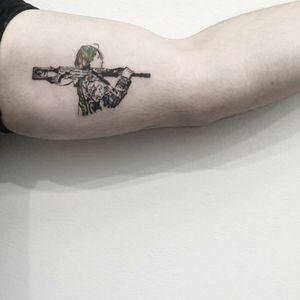 #tattoo #tattooidea #tattoodesign #tattooinspiration #tattoodo #tattooink #tattoolife #polishtattooartist #sanfranciscotattoo #berkeleytattoo #bayareatattoo #oaklandtattoo #jessejamestattoo #femaletattooartist #biceptattoo