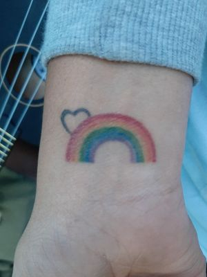 #rainbowtattoo #pride #lesbiantattoo