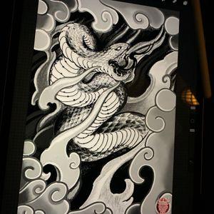 Snake design 🐍🐍