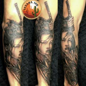 Tattoo by TEXANA INK