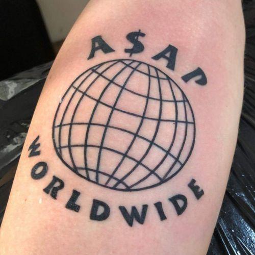 #asap #worldwide #globe #trap