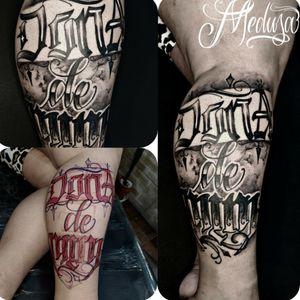 #tattoo #tatuaje #tatuagem #letras #letteringtattoo #lettering #calligraphy #calligraphytattoo
