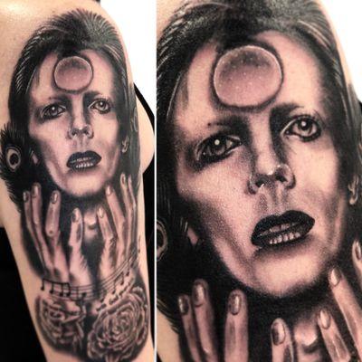 David Bowie love. #davidbowie #potrate